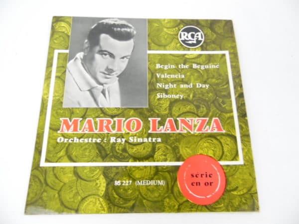 Disque vinyle - 45T - Mario Lanza