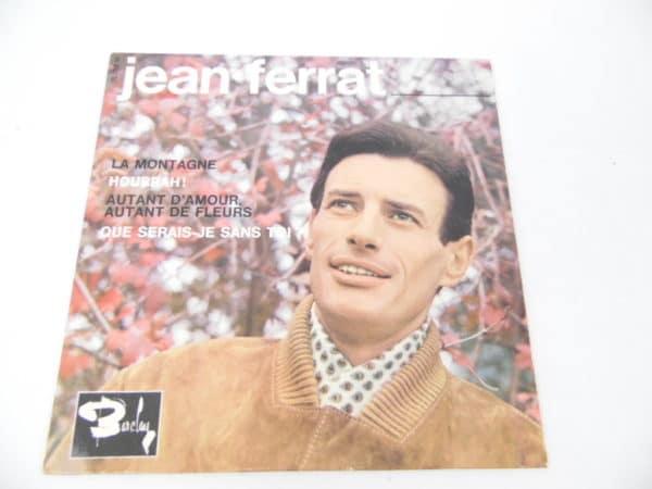 Disque vinyle - 45T - Jean Ferrat