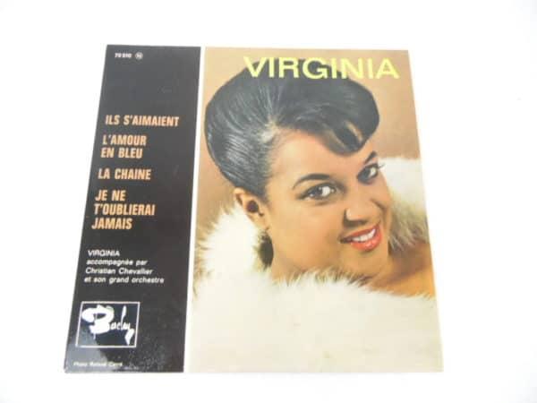 Disque vinyle - 45T - Virginia