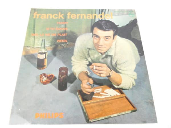 Disque vinyle - 45T - Franck Fernandel