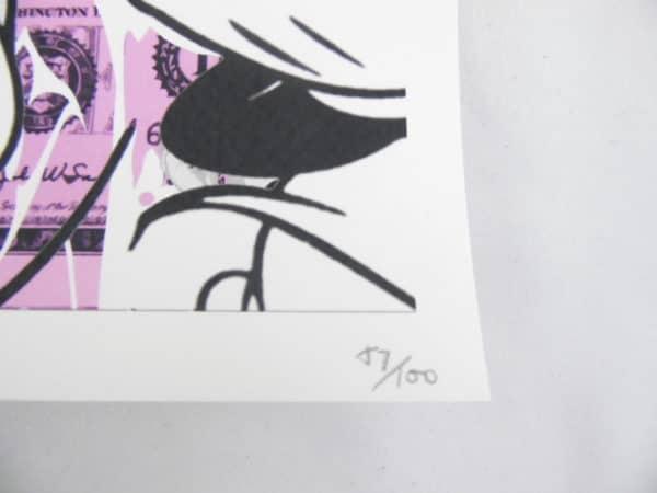 Street pop Art - Sérigraphies - Death NYC - Minnie