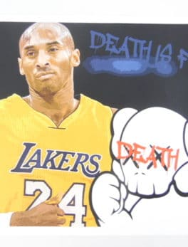 "Street pop Art - Sérigraphies - Death NYC - ""Thumbs Up Ko Be"""