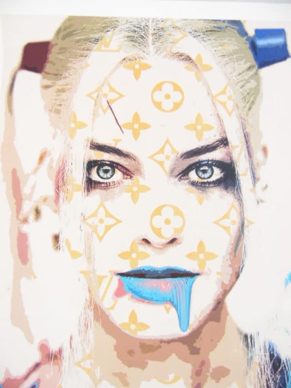 Street pop Art - Sérigraphies - Death NYC - Harley Quinn