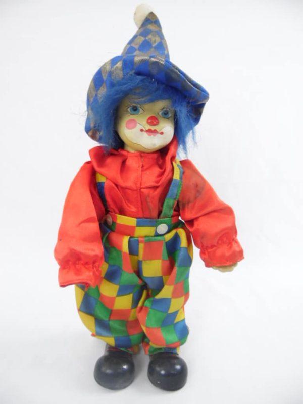 Clown en porcelaine