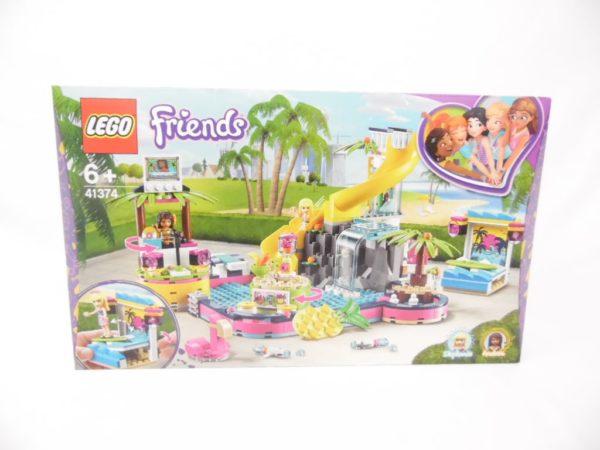 LEGO Friends - N° 41374 - La soirée piscine d'Andréa