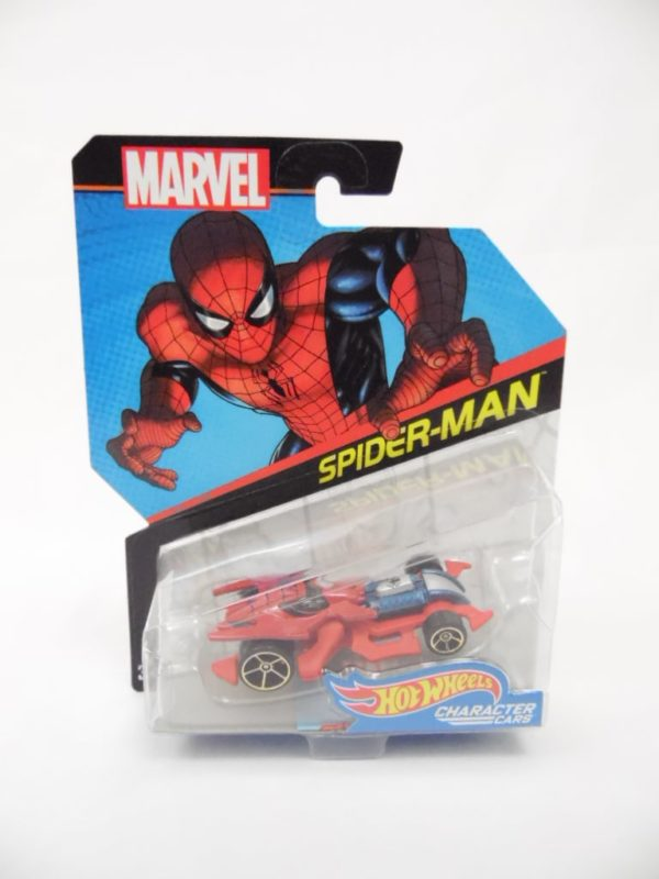 Voiture Hot Wheels - Personnage Marvel - Spider-Man