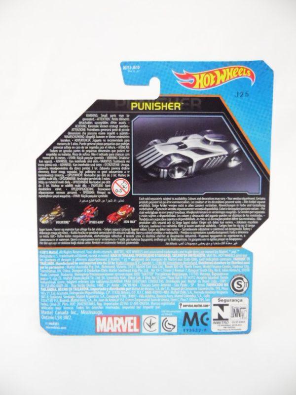 Voiture Hot Wheels - Personnage Marvel - Punisher