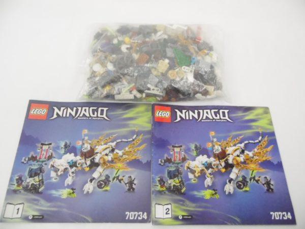 LEGO Ninjago - N° 70734 - Le Dragon de Maître Wu