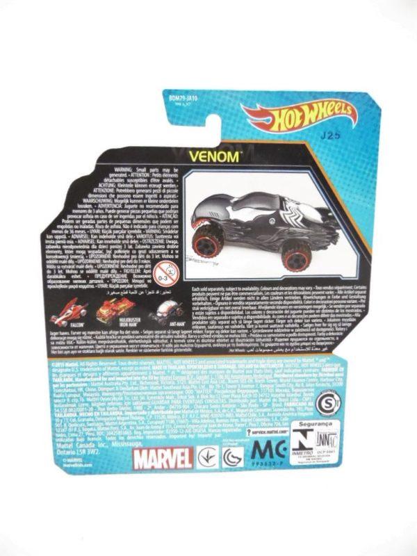 Voiture Hot Wheels - Personnage Marvel - Venom