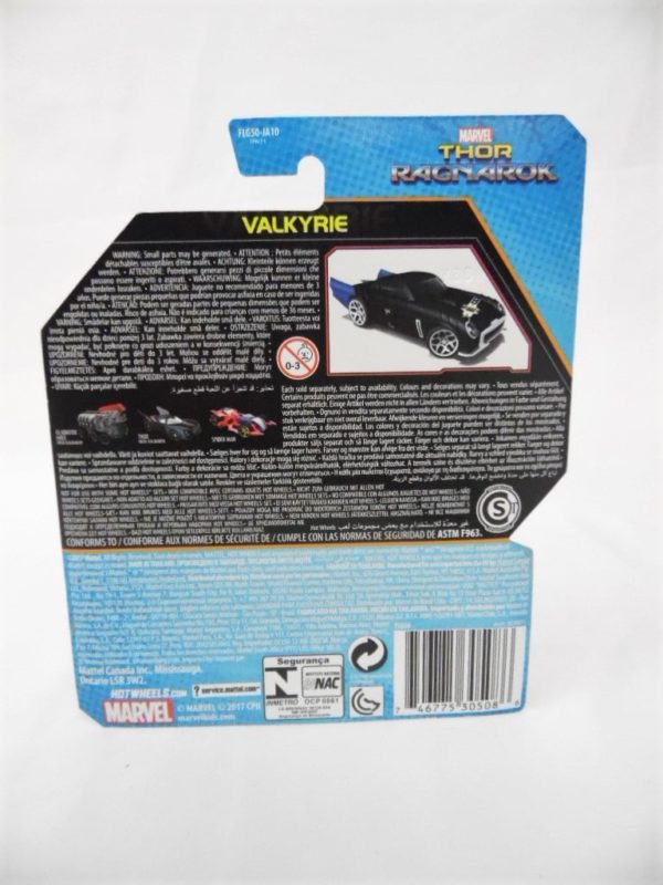 Voiture Hot Wheels - Personnage Marvel - Valkyrie