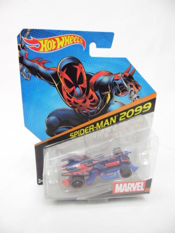 Voiture Hot Wheels - Personnage Marvel - Spider-Man 2099
