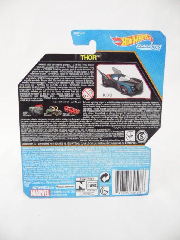 Voiture Hot Wheels - Personnage Marvel - Thor Ragnarok