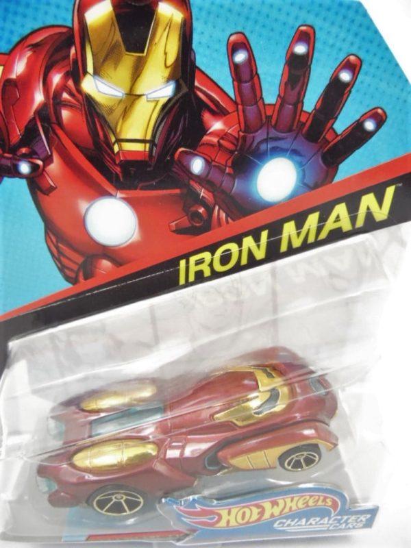 Voiture Hot Wheels - Personnage Marvel - Iron Man