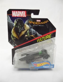 Voiture Hot Wheels Marvel - Personnage Spider-Man Homecoming - Vulture
