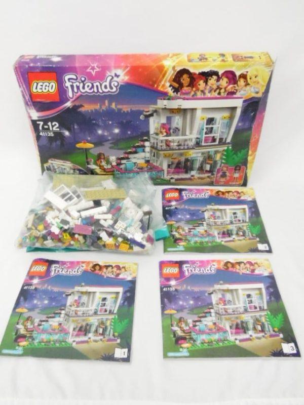 LEGO Friends - N° 41135 - La maison de la Pop Star Livi