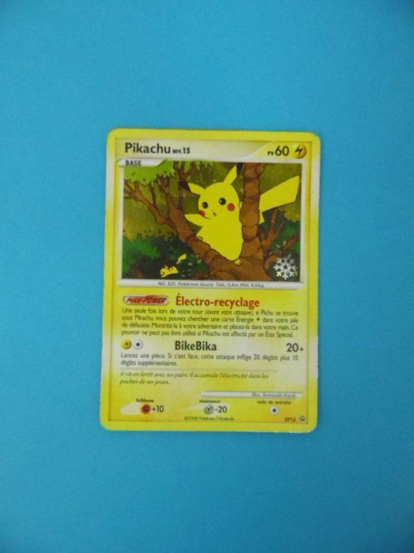 Carte Pokemon FR - Pikachu 60PV - DP16