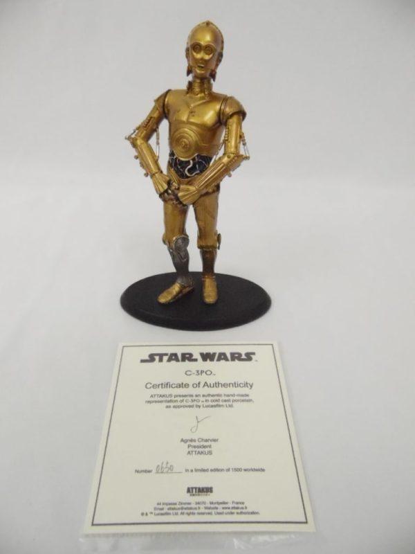 Statue Attakus - élite collection - C-3PO