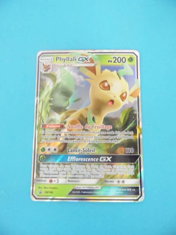 Carte Pokemon FR - Phyllali GX 200PV - SM146 Holo Full-art