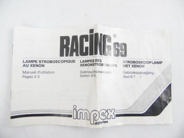 Lampe Stroboscopique au Xenon - Racing 69