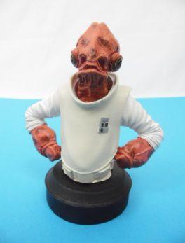 Buste Star Wars - Amiral Ackbar - Altaya N°36