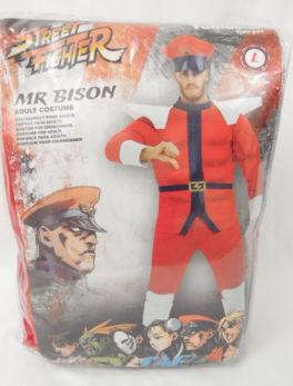 Déguisement adulte - Street Fighter - Bison - Taille L