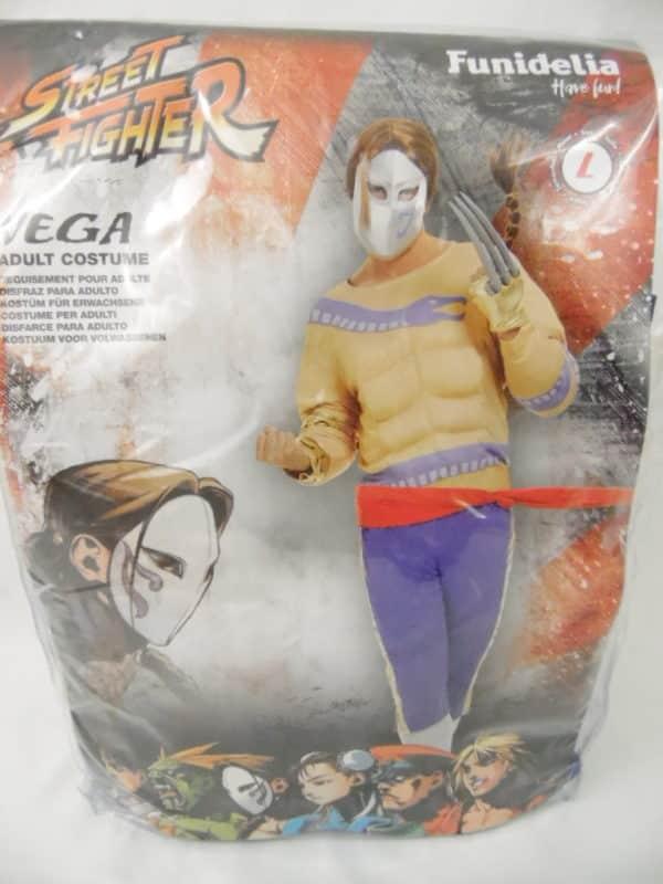 Déguisement adulte - Street Fighter - Véga - Taille L