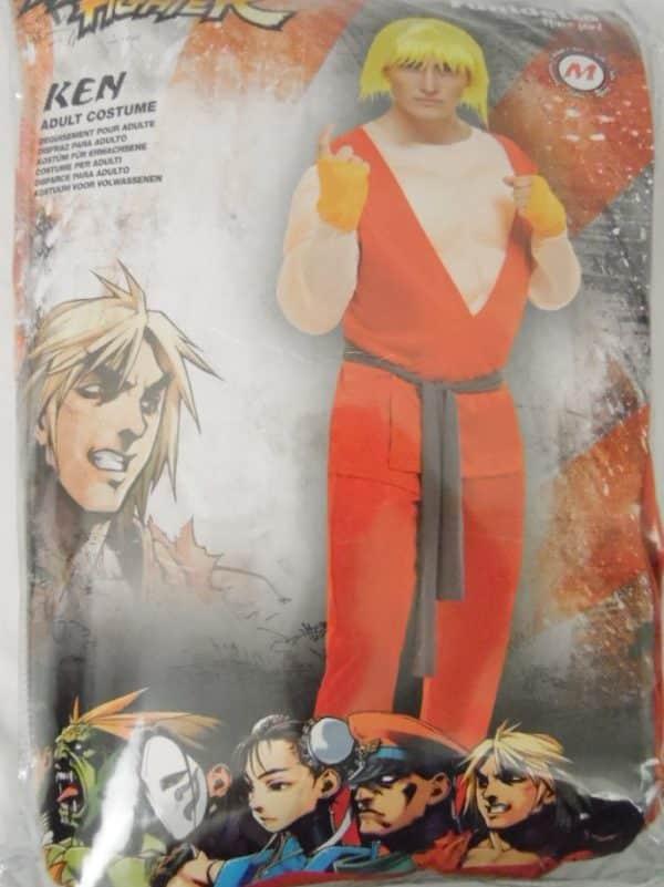 Déguisement adulte - Street Fighter - Ken - Taille M