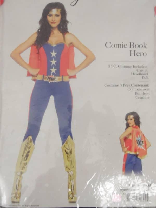 Déguisement adulte - Leg avenue - Comic Book Hero