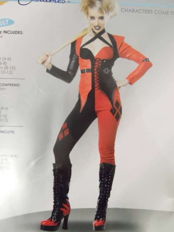 Déguisement adulte - California Costumes - Psycho Jester Chick