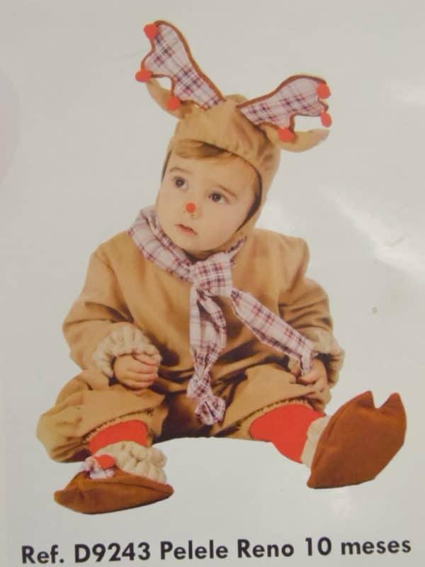Déguisement Bébé renne - 10 mois - Nines d'onil