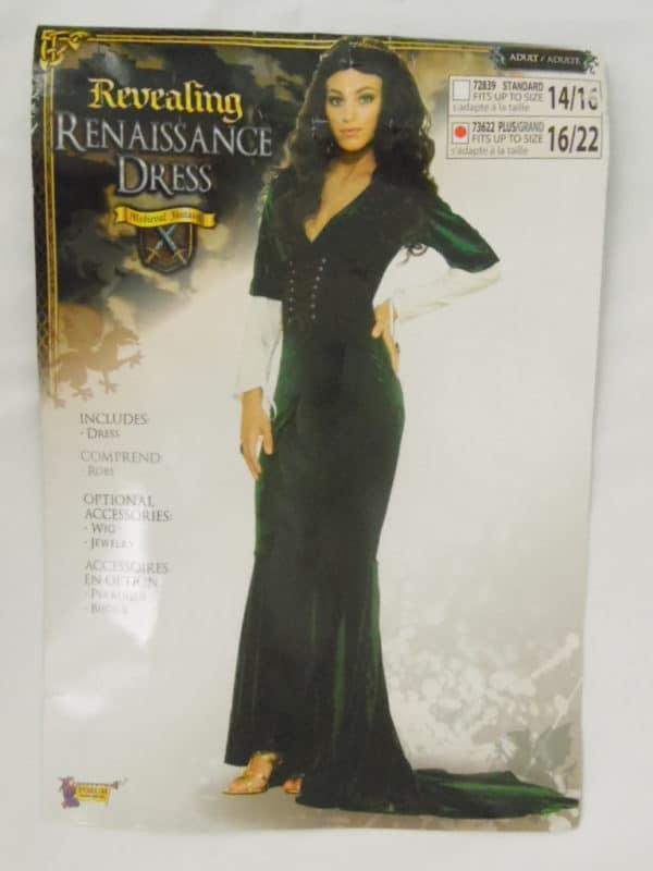 Déguisement adulte - Médiéval Fantasy - Revealing Renaissance Dress
