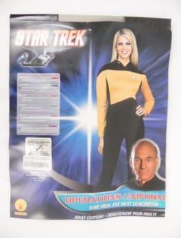 Déguisement adulte - Star Trek - Uniforme taille XS