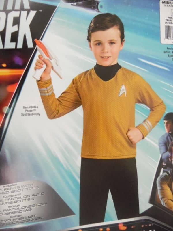 Déguisement enfant - Star Trek - Captain Kirk