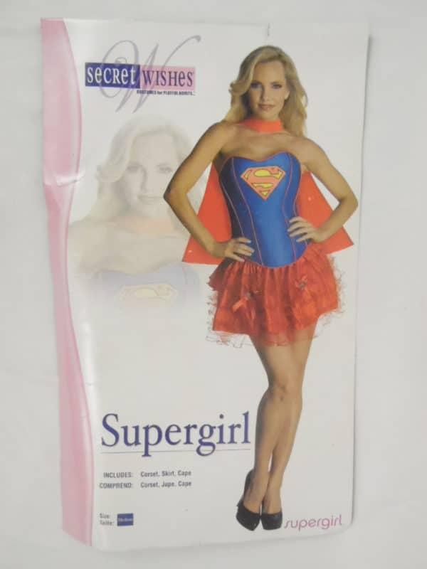 Déguisement adulte - Secret Wishes - SuperGirl - Taille M