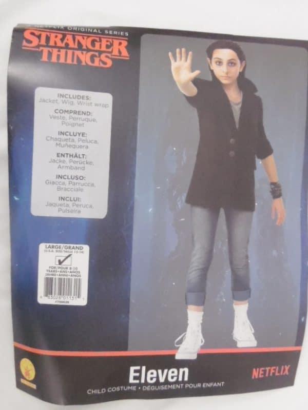 Déguisement enfant - Stranger Things - Onze