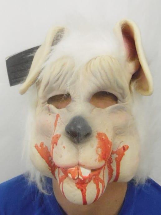 Déguisement adulte - Masque d'horreur - Bloody Bunny