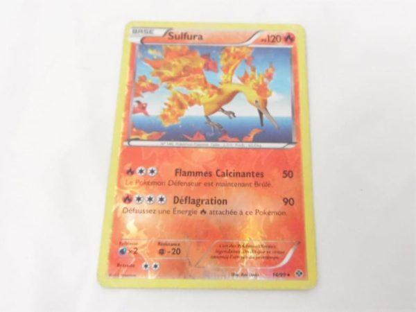 Carte Pokemon FR - Sulfura 120PV reverse - 14/99 - Destinées Futures