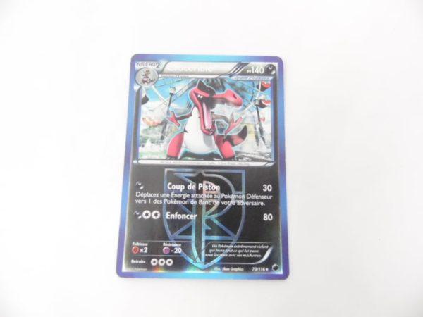 Carte Pokemon FR - Crocorible 140PV Reverse - 70/116 - Glaciation Plasma