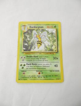 Carte Pokemon FR - Dardargnan 80PV - 17/102 - set de base