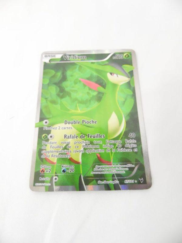Carte Pokemon FR - Viridium 110PV Full art - 97/101 - Nobles Victoires