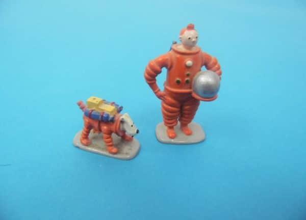 "Figurine Tintin - Pixi Moulinsart - Tintin et milou ""Objectif lune"""