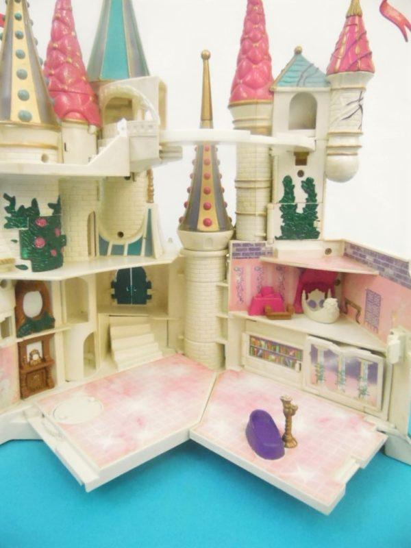 Jouet Polly Pocket - Chateau la belle et la bête - Bluebird - Année 1998