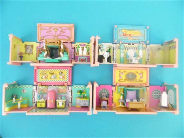 Jouet Polly Pocket - L'immeuble Deluxe Mansion Dream - Bluebird - Année 1999