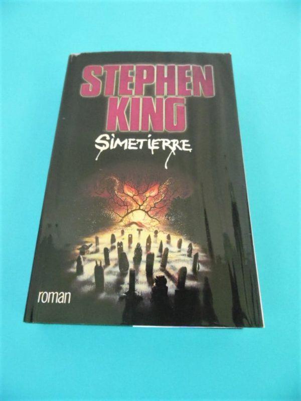 Livre Simetierre de Stephen King