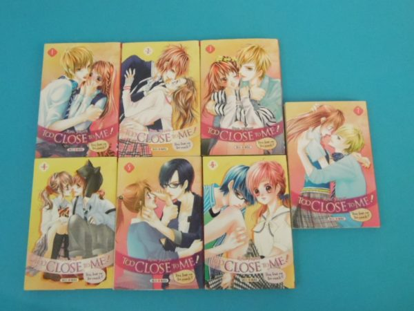 Manga - Too Close To Me - Tomes 1 à 7 - VF