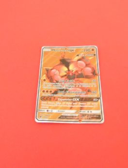 Carte Pokémon FR - Mouscoto GX 190PV Full art Holo - 104/111 - Invasion Carmin