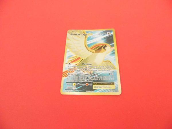 Carte Pokémon FR - Roucarnage EX 170PV Full art Holo - 104/108 - XY Évolutions
