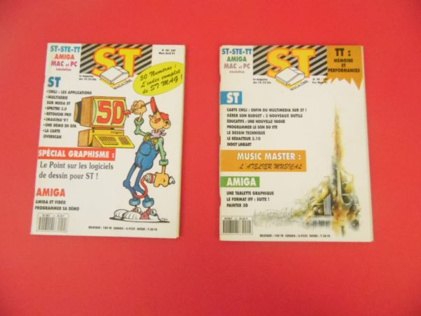 20 Magazines - ST Magazine - N°37 à 56
