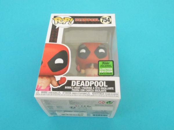 Figurine Pop - Marvel - Deadpool - N° 754