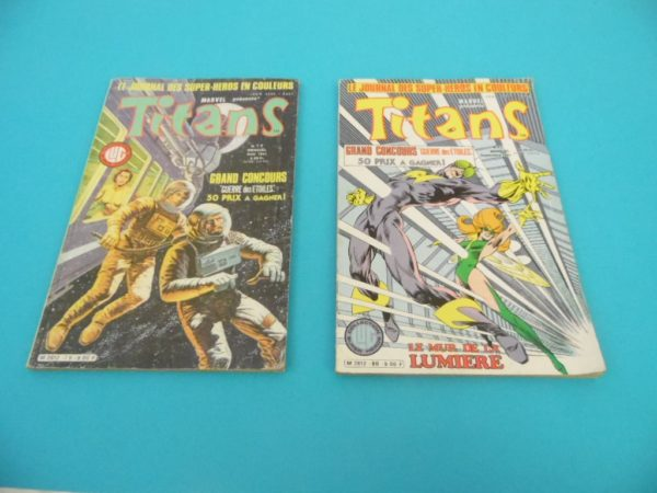 Comics Marvel - Titans - N°79 et N°80 - Année 1985